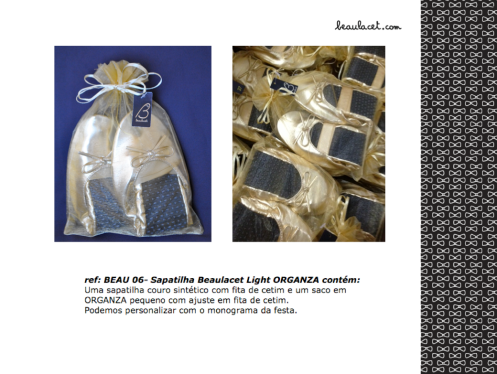 10-SAPATILHA BEAULACET LIGHT ORGANZA