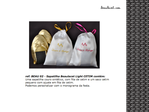 6-SAPATILHA BEAULACET LIGHT CETIM